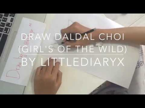 Draw DalDal Choi (Girl's of The Wild comic) By LittleDiaryx