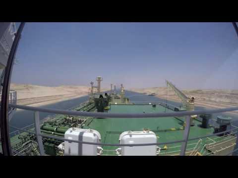 Suez Canal Northbound Transit