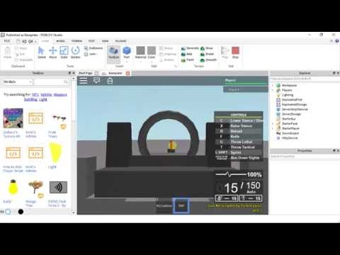 Tutorial Roblox First Person Aim Mouse Sensitivity Links In