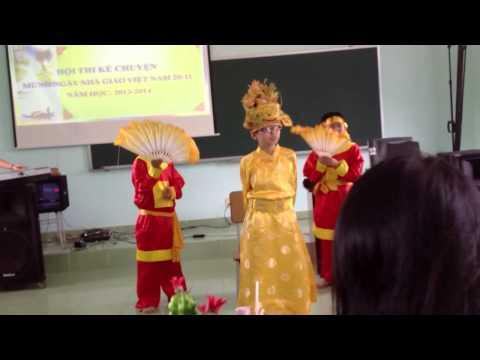 Ngọc Hoàng và Táo Quân Trường THCS Trần Phú TP Vũng Tàu
