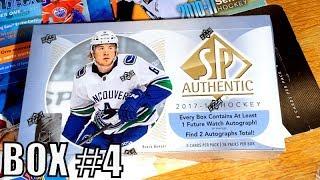 17/18 SP Authentic Hockey Hobby Box Break // Box #4