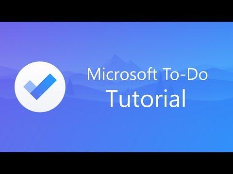 Microsoft To-Do Tutorial thumbnail