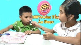 100% Gôm Tẩy Hubba Bubba Ăn Được❤Baby channel❤