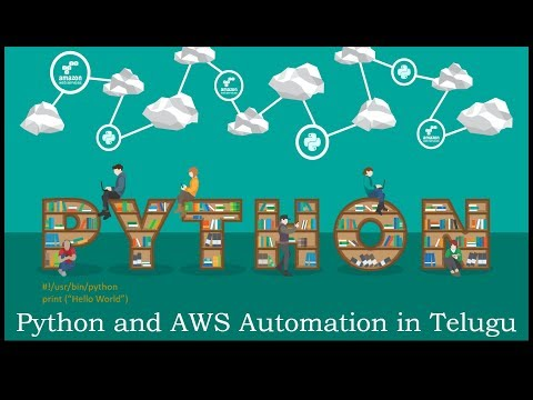 Python and AWS Automation in Telugu