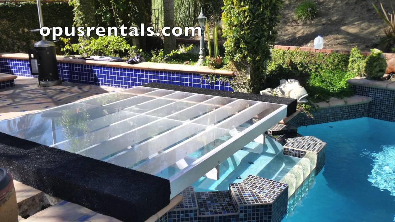 Dance Floor Pool Cover Rentals Youtube
