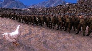 1 GALINHA VS 100 MIL SOLDADOS AMERICANOS!! (Ultimate Epic Battle Simulator)