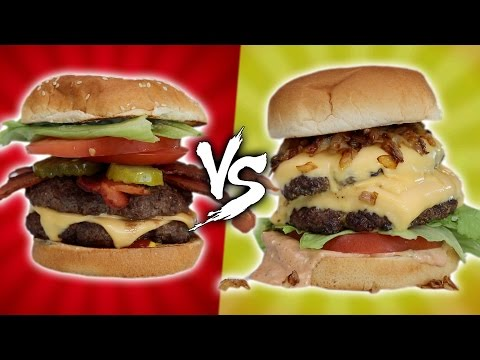 Thumbnail: IN-N-OUT VS FIVE GUYS - HOMEMADE