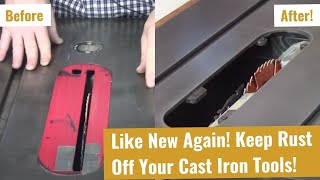 How To Clean Your Cast Iron - A Simple Tip