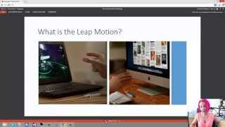 Developing for Leap Motion in C# Part 1 of 2