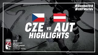 Game Highlights: Czech Republic vs Austria May 14 2018 | #IIHFWorlds 2018