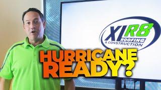 Prepare for Hurricane Season 2021 with Matthew Mink   XLR8 Roofing