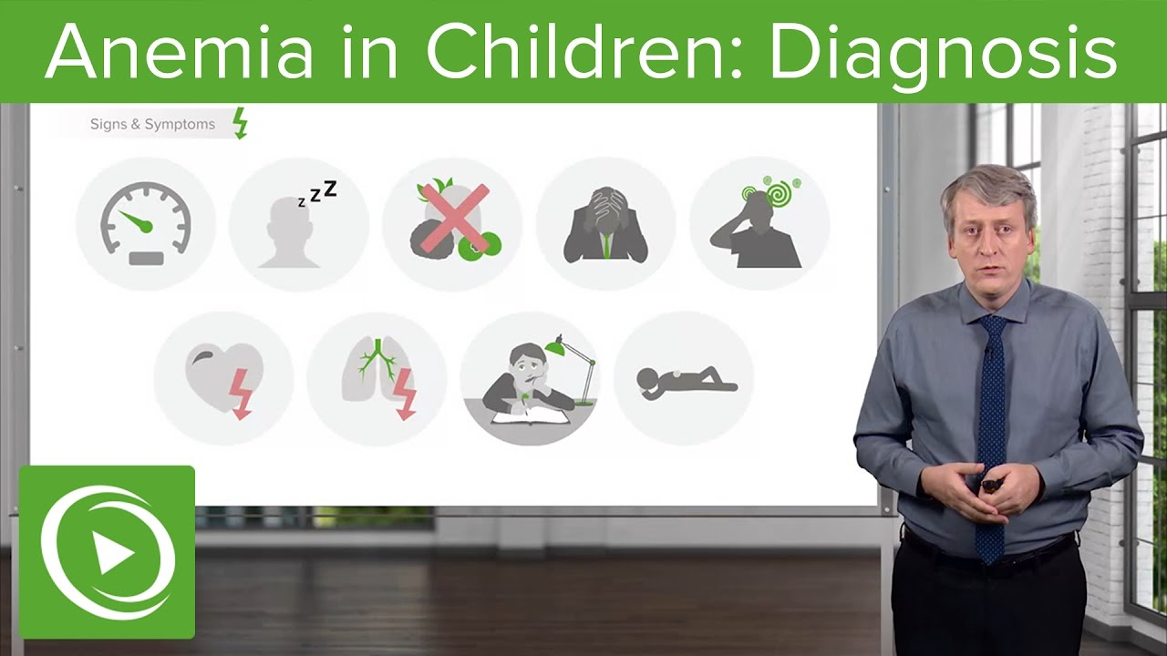 Anemia in Children: Diagnosis – Pediatric Hematology | Lecturio