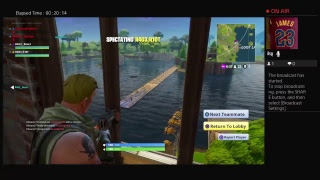 Fortnite squad insane glitch