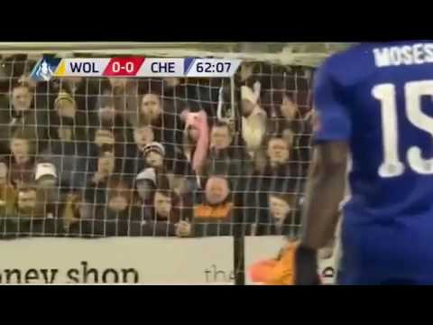 Wolves Vs Chelsea 0-2 All Goals Extended Highlights FA Cup 18 02 2017 HD