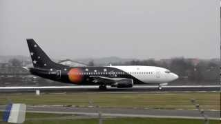 Boeing 737 Classic (Titan Airways + British Airways) at FDH [HD]