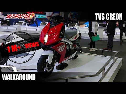 TVS Creon Electric Scooter Concept Walkaround (Hindi)