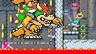Super Mario Maker: Fases Automáticas - Exclusivo Nintendo Wii U Gameplay thumbnail