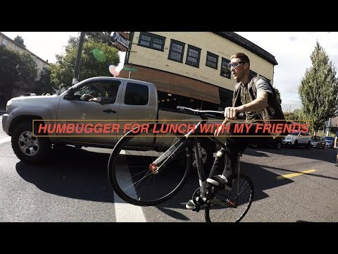 HUMBUGGER TIME - Portland Oregon ไปกินแฮมเบอร์เก้อร์ฝรั่งกัน