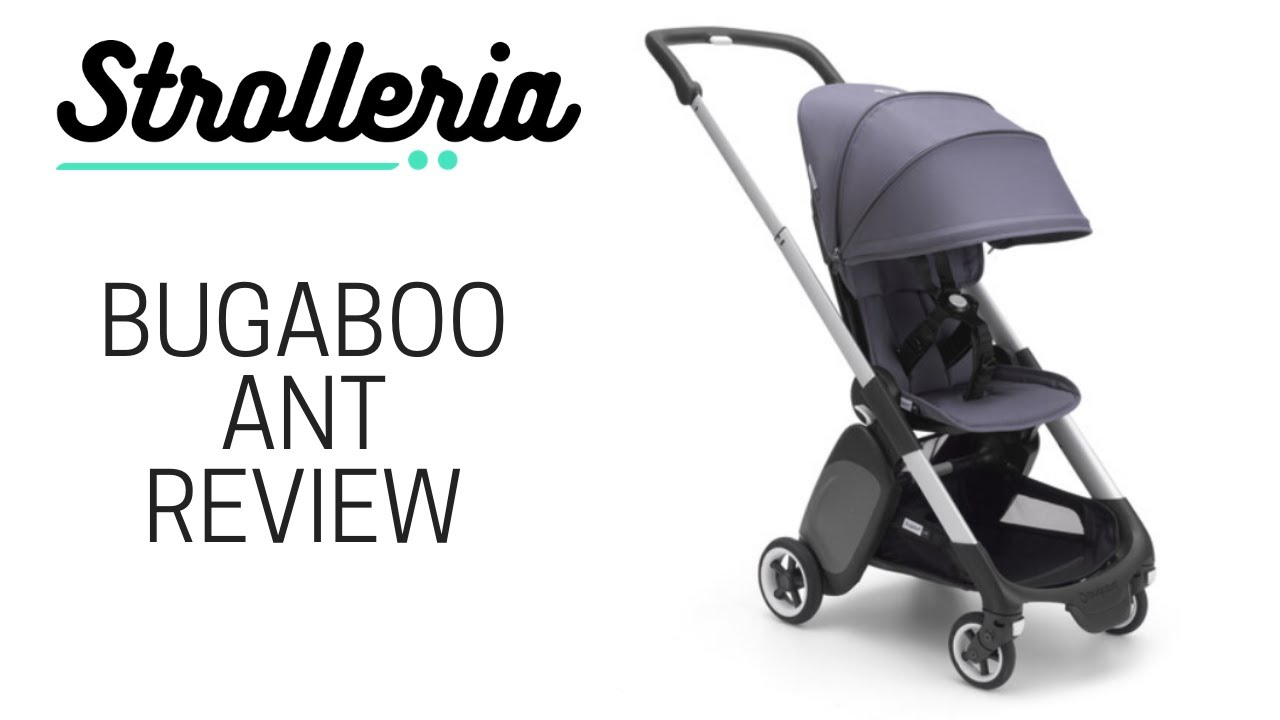 Bugaboo Ant Stroller Review - YouTube