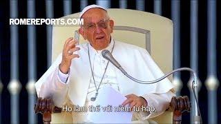 """Đức Giáo Hoàng: Người dân Colombia là """"những người đầy hy vọng"""""""