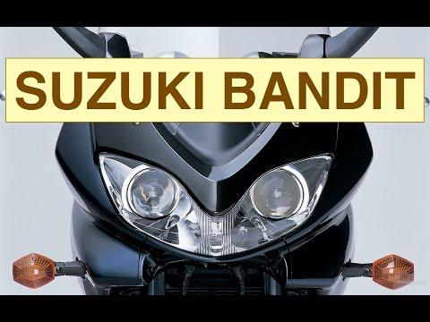История мотоцикла Suzuki Bandit 1200 1995 - 2006
