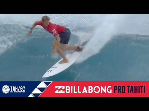 Florence vs. Lau vs. Aranburu - Round One, Heat 5 - Billabong Pro Tahiti 2017