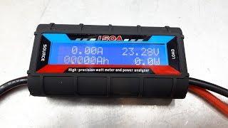 Измеряем Мощность импеллера - как измерить ток БК двигателя