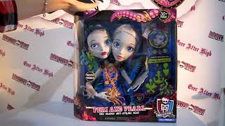 Обзор на манекен Пери и Перл Монстер Хай Peri and Pearl Styling Head monster High