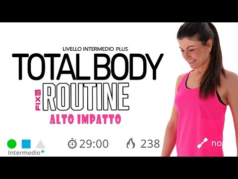 Total Body Workout A Casa! Allenamento Total Body A Corpo Libero