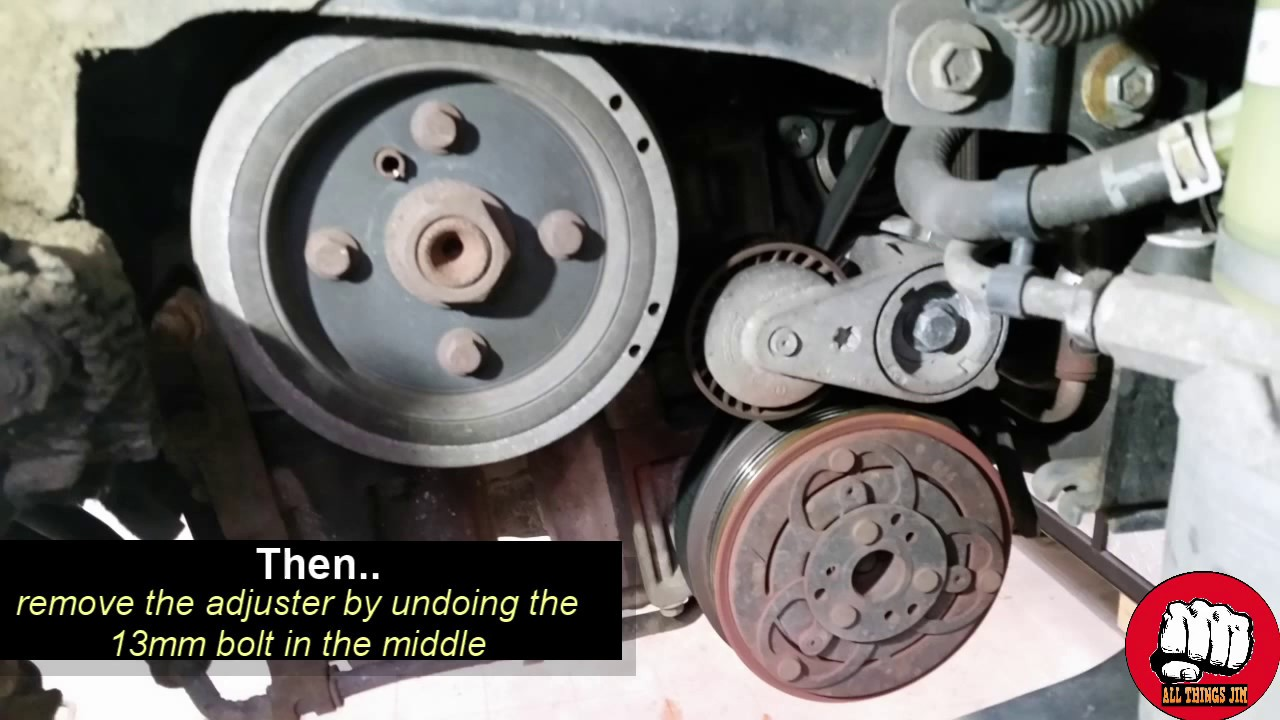 medium resolution of ford st volvo 2 5 litre cambelt water pump replacement