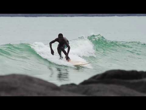 Brilliant Corners Sierra Leone : Bureh Beach Surf Club Surf Trailer