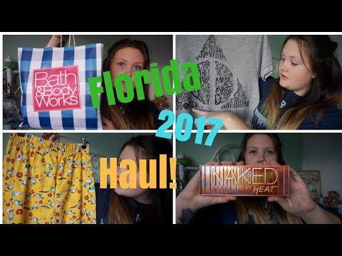 Florida Haul 2017 // Universal Orlando, Bath and Body Works & MORE!
