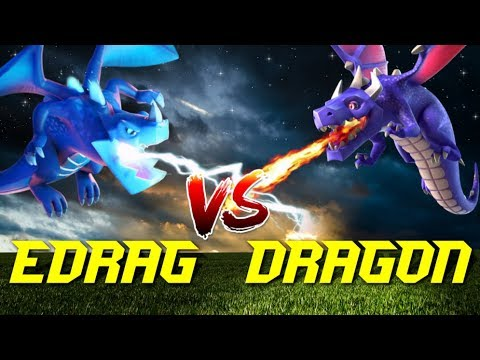How Long Will Your Dragon Live | Clash Of Clans