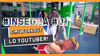Insegno al YouTuber SIM1WORKOUT come iniziare Calisthenics