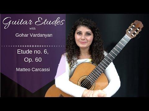 Маттео Каркасси - Op 60 Study No 6 In C