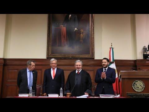 Afloraron los Demonios del Presidente de la Suprema Corte de Justicia de la Nacion
