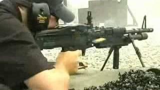 M60: Schweres Maschinengewehr, Dauerfeuer