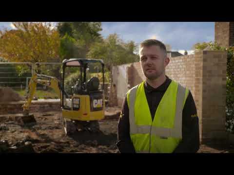 Cat® 301.5 Mini Excavator Customer Story – Worth Plant Hire (United Kingdom)