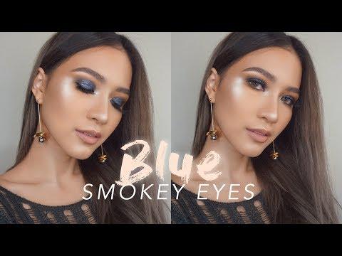 STARRY BLUE SMOKEY EYES + GIVEAWAY BAHASA INDONESIA   SARA ROBERT