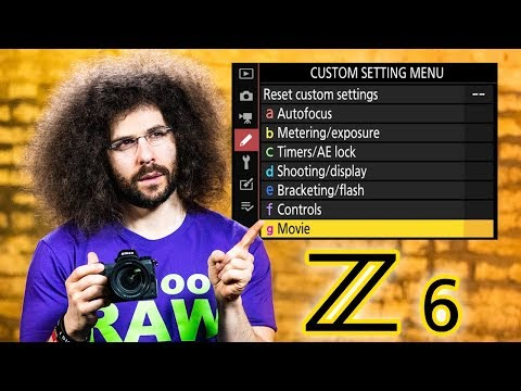 Nikon Z6 User's Guide | How To Set Up Your New Camera