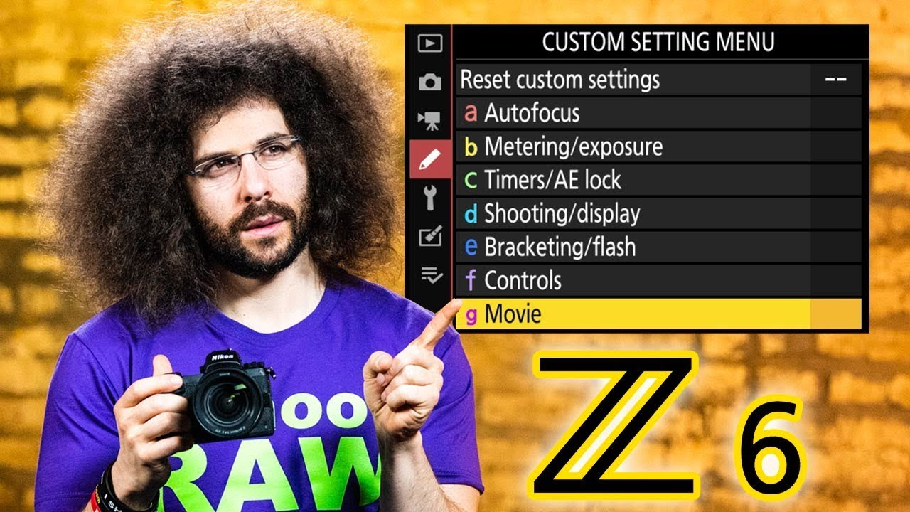 Nikon Z6 Users Guide | Tutorial / How To (BUTTONS, DIALS and