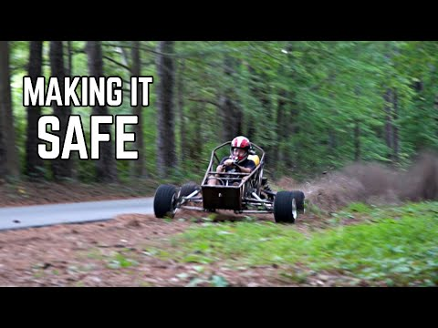 Cross Kart SAFETY UPGRADES | 5pt Harness, Axles, Wheel Balance