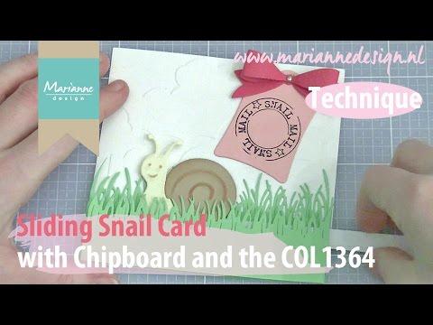 Sliding Snail Card