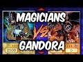 Yugioh DARK MAGICIAN vs GANDORA (Yu-gi-oh Competitive Deck Duel!)