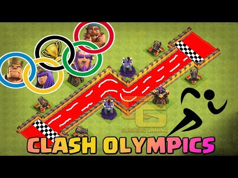 Clash Olympics | Heroes Race | Who's The Fastest ? - Clash Of Clans