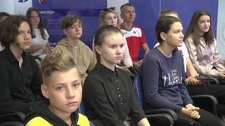 2021-09-14 г. Брест. Пресс-конференция Ю. Щербацевича.  Новости на Буг-ТВ. #бугтв