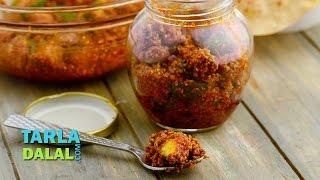 Methia Keri, Gujarati Mango Pickle Recipe by Tarla Dalal