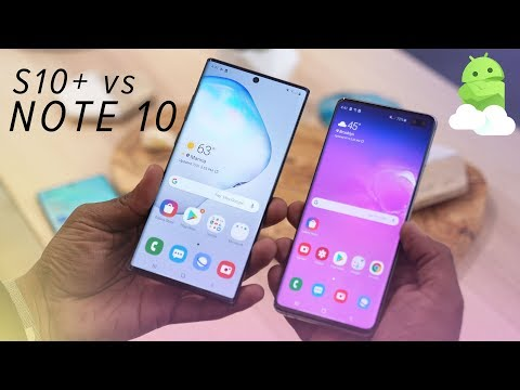 Galaxy Note 10+ vs. Galaxy S10+: Which should you buy?