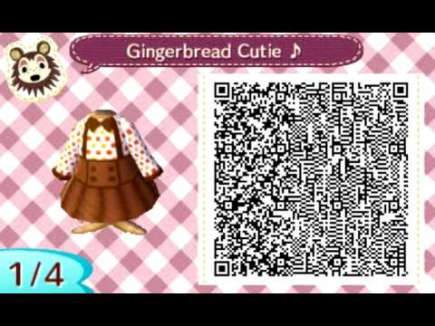 Image of: Clothes Animal Crossing New Leaf Qr Code Dresses Simple Home Decor Ideas Animal Crossing New Leaf Qr Code Dresses Youtube