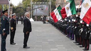 Conmemoración del 106 Aniversario de la Marcha de la Lealtad en el Castillo de Chapultepec